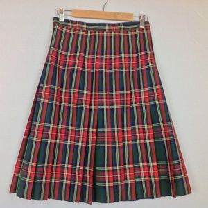 Pendleton  Reversible Skirt Womens 8 Plaid